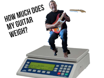 How Much Do Electric Guitars Weigh?