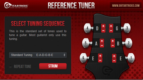 Guitar Tricks Review Tuner