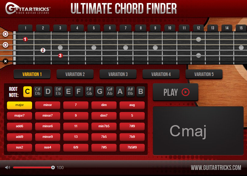 Guitar Tricks Review Chord Finder