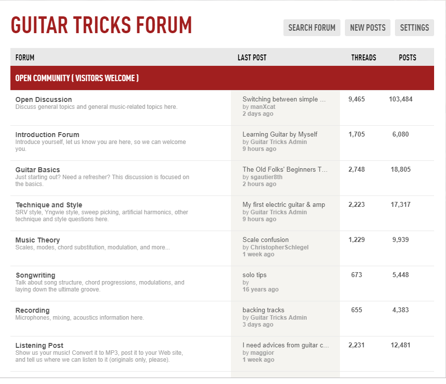 Guitar Tricks Review Forum