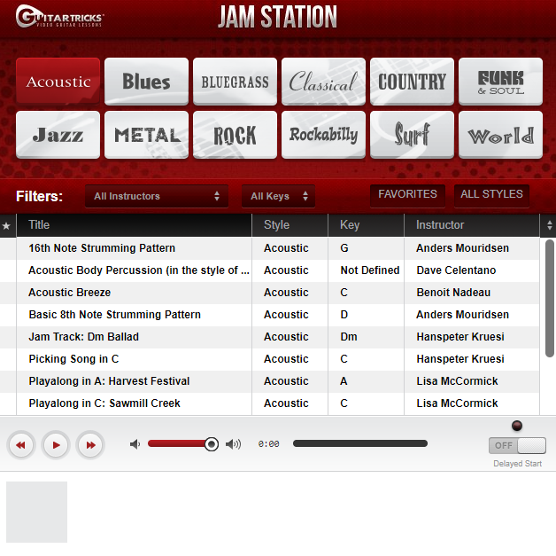 Guitar Tricks Review Jam Station